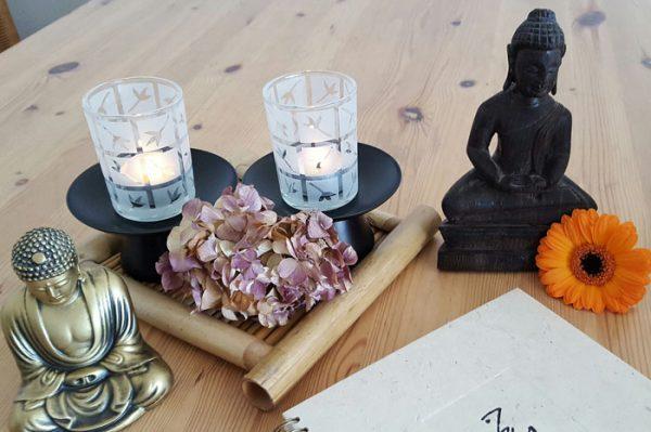 Sesión de Yoga en casa