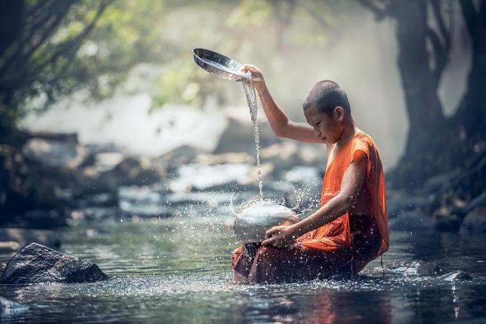 Normas morales del budismo