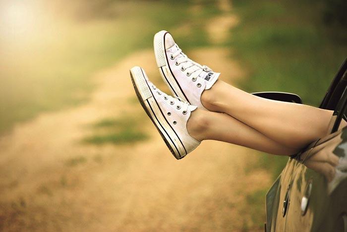 Ritual del papel en el zapato