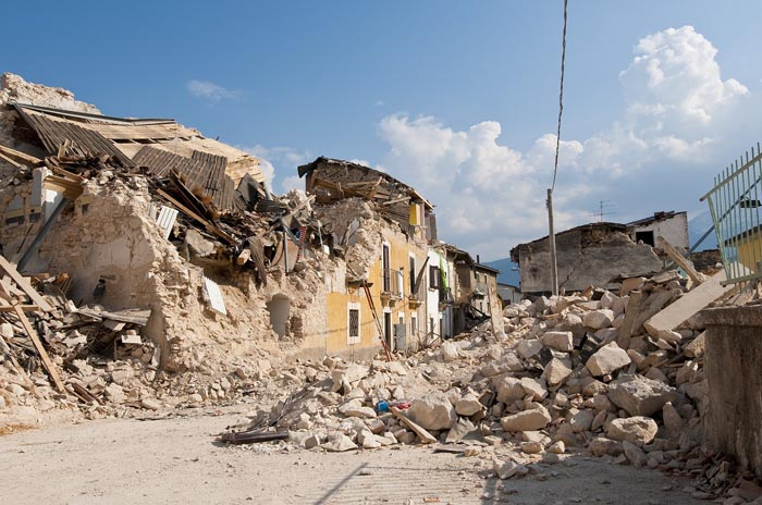 El significado de Soñar con un Terremoto