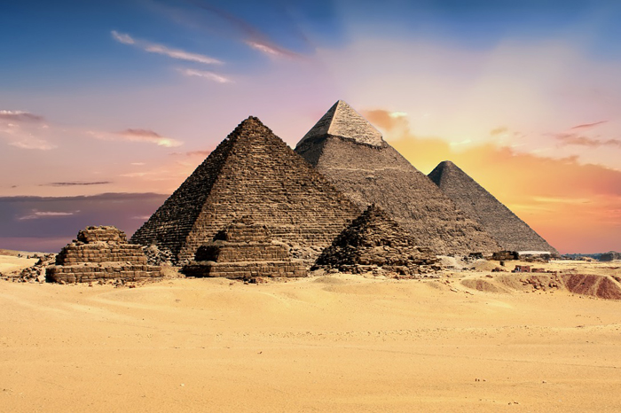 Secretos de las piramides de Giza (Egipto)